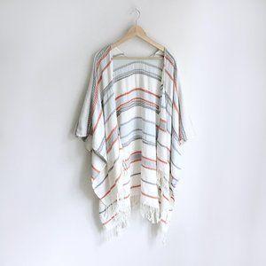 Aussie woven tassel beach wrap - OS
